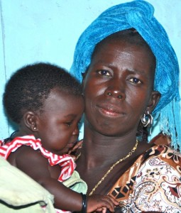 Malisi with her daughter Shalom